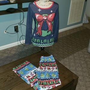 Other - New Target Style Christmas Sleepwear Set